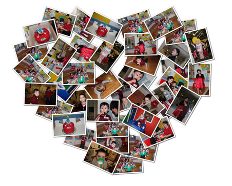 Love Heart Collage