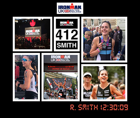 Ironman Triathlon Collage