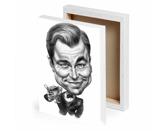 Caricature Canvas Prints