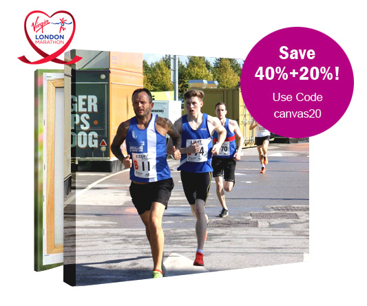 London Marathon Canvas Prints